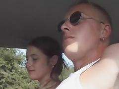Car, Amateur, Car, Couple, Outdoor, Reality