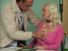 Busty German Mature Fucking In Office video
